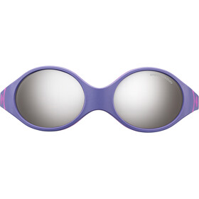 Julbo Baby 2-4Y Loop Spectron 4 Sunglasses Purple/Sky Blue/Fluorescent Pink-Gray Flash Silver